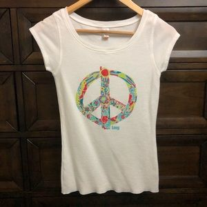 Lucy Short Sleeve T-Shirt Scoop Neck Size S
